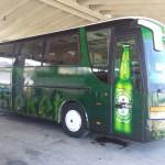 Oslikavanje autobusa printanim naljepnicama